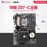 Asus/华硕 Z97-C 装备型固态Z97电脑游戏主板1150针 支持I5-4590